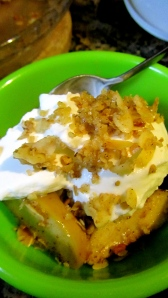 apple and pear crumble 2